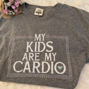 Atx mafia t-shirt My kids are my cardio